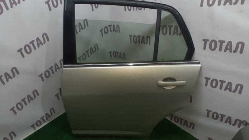 Дверь Nissan Tiida Latio SNC11 HR15DE 2007 задняя левая (б/у)