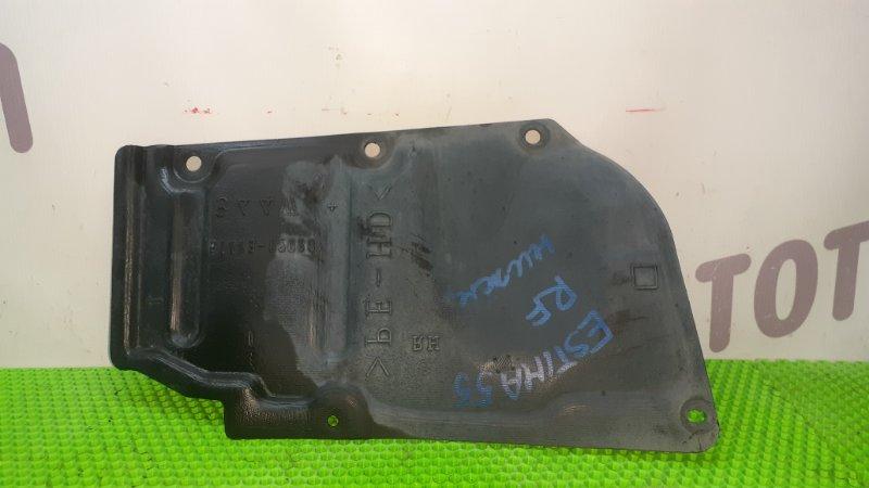 Защита двигателя Toyota Estima GSR55 2GRFE 2007 правая (б/у)