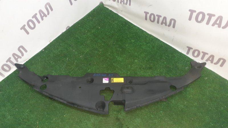 Накладка на телевизор Toyota Estima GSR55 2GRFE 2007 верхняя (б/у)