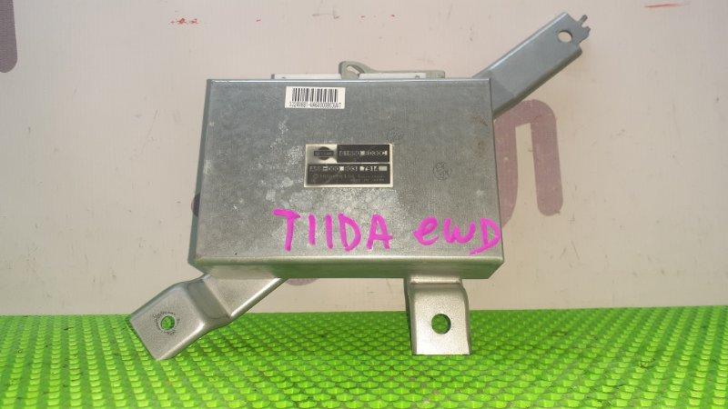 Блок управления 4wd Nissan Tiida Latio SNC11 HR15DE 2007 (б/у)