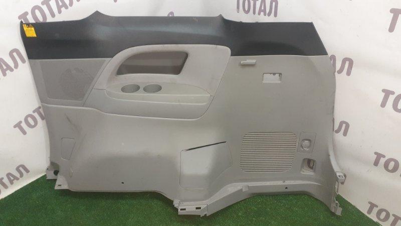 Обшивка багажника Toyota Estima GSR55 2GRFE 2007 задняя правая (б/у)