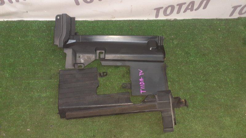 Дефлектор радиатора Nissan Tiida Latio SNC11 HR15DE 2007 (б/у)