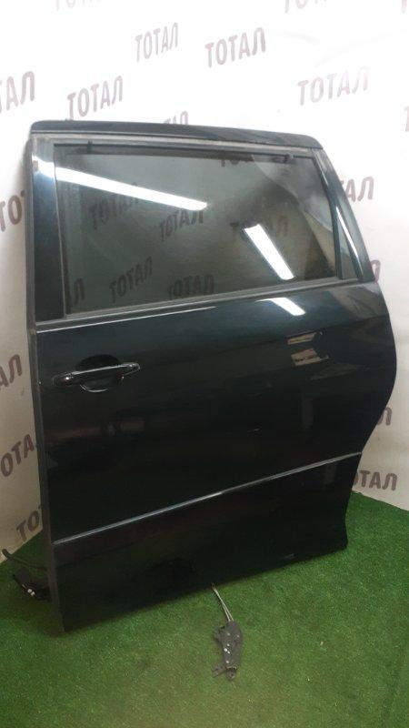 Дверь Toyota Estima GSR55 2GRFE 2007 задняя левая (б/у)