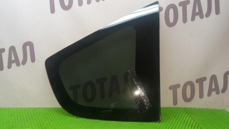 Стекло собачника Honda Fit GE6 L13A 2009 заднее правое (б/у)
