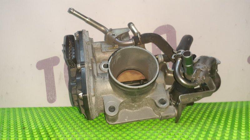 Блок дроссельной заслонки Honda Fit GE6 L13A 2009 (б/у)