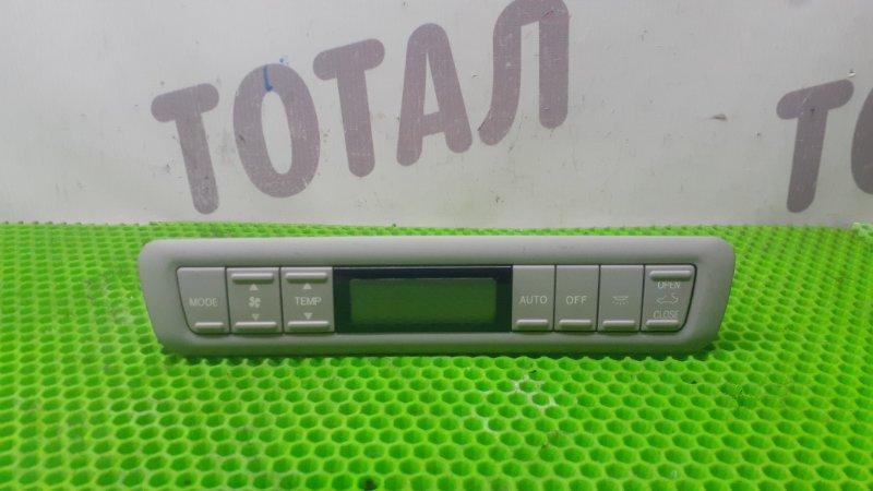 Блок управления климат-контролем Toyota Alphard ANH15 2AZFE 2002 (б/у)