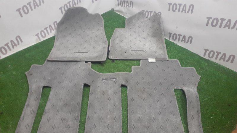 Коврики комплект Toyota Alphard ANH15 2AZFE 2002 (б/у)