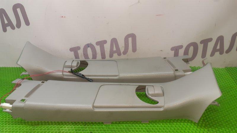 Накладка на стойку кузова Toyota Alphard ANH15 2AZFE 2002 задняя верхняя (б/у)