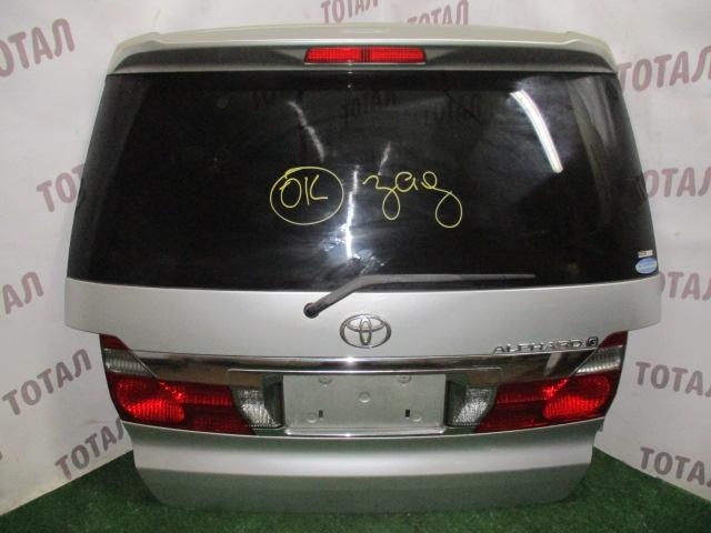 Дверь 5-я Toyota Alphard ANH15 2AZFE 2002 (б/у)