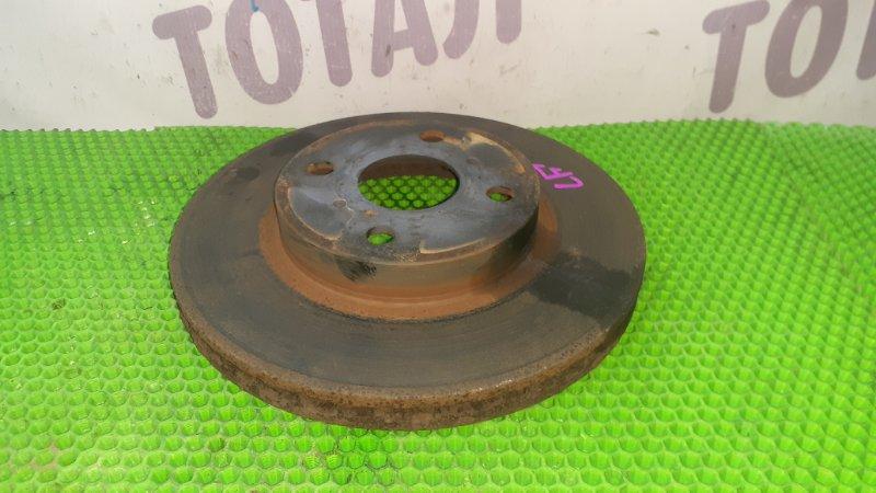 Тормозной диск Toyota Vitz NCP95 2NZFE 2007 передний левый (б/у)