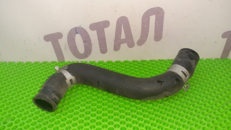 Патрубок радиатора Toyota Funcargo NCP25 1NZFE 2003 нижний (б/у)