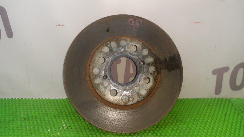 Тормозной диск Toyota Funcargo NCP25 1NZFE 2003 передний правый (б/у)