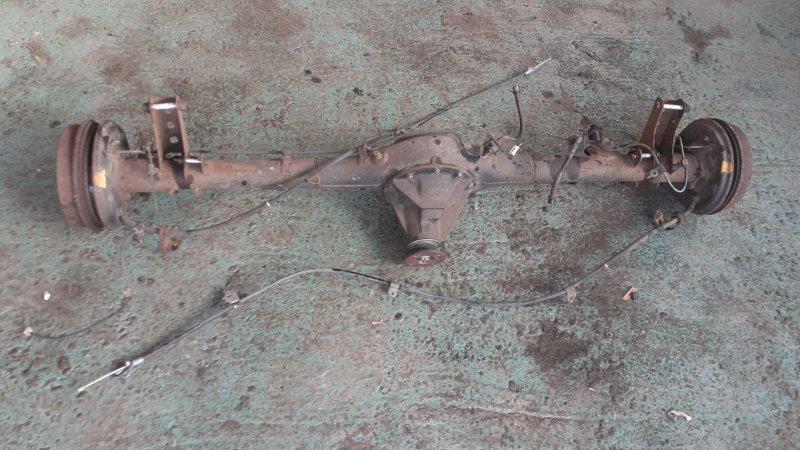 Мост Toyota Funcargo NCP25 1NZFE 2003 задний (б/у)