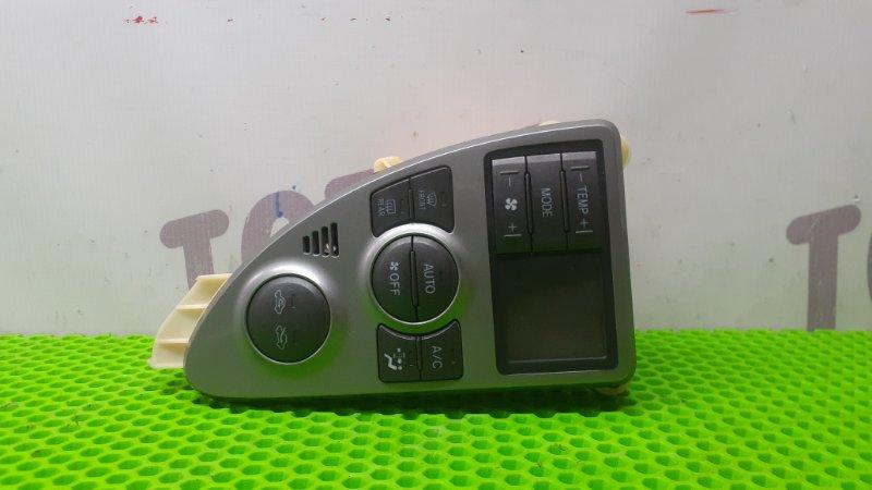 Блок управления климат-контролем Toyota Ractis NCP105 1NZFE 2007 (б/у)