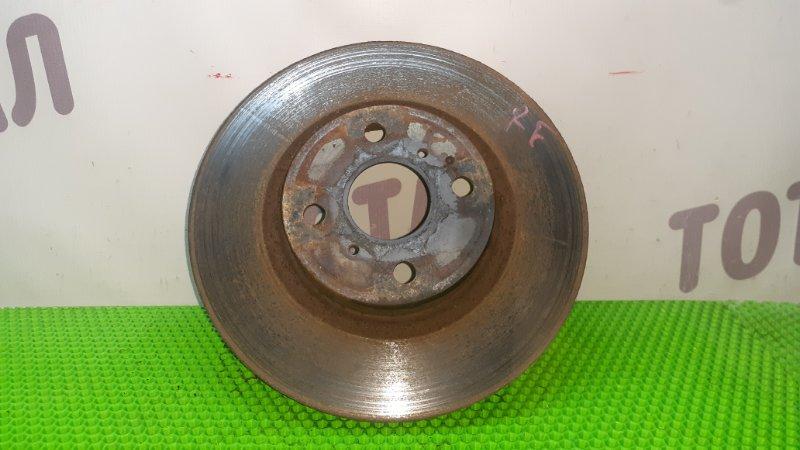 Тормозной диск Toyota Ractis NCP105 1NZFE 2007 передний правый (б/у)