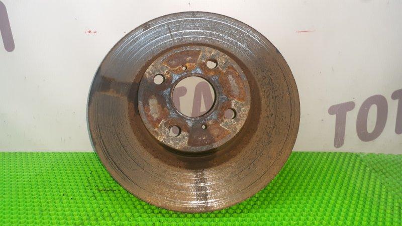 Тормозной диск Toyota Ractis NCP105 1NZFE 2007 передний левый (б/у)