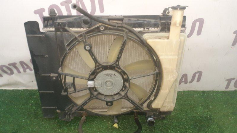Радиатор двс Toyota Vitz NCP95 2NZFE 2007 (б/у)