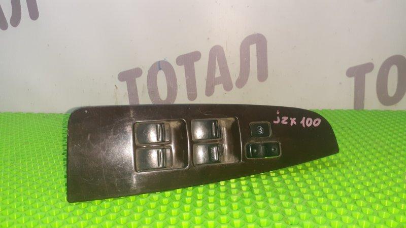 Блок упр. стеклоподьемниками Toyota Mark Ii JZX100 1JZFE передний правый (б/у)
