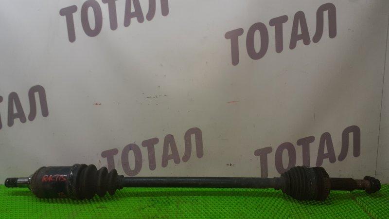 Привод Toyota Vitz NCP95 2NZFE 2007 задний правый (б/у)