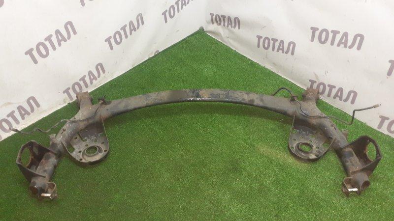 Балка подвески Toyota Vitz NCP95 2NZFE 2007 задняя (б/у)
