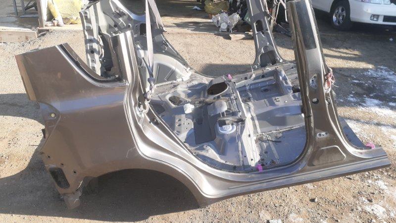 Крыло Toyota Ractis NCP105 1NZFE 2007 заднее правое (б/у)