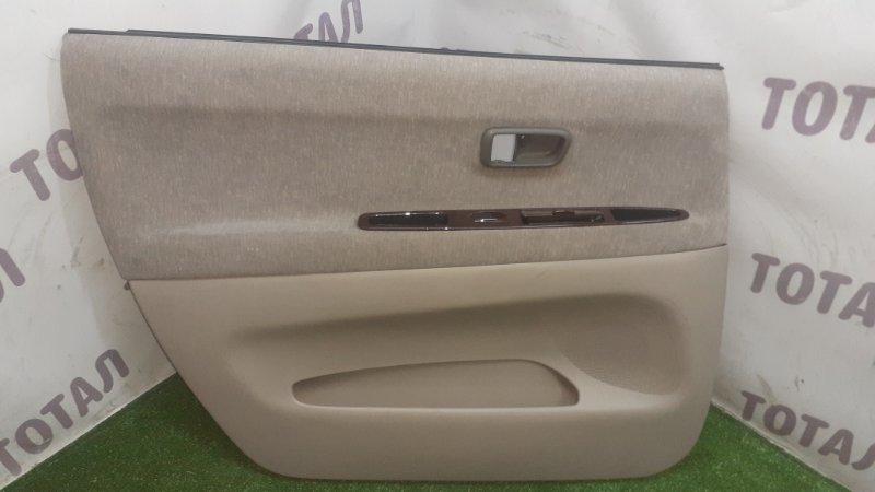 Обшивка двери Toyota Gaia SXM15 3SFE 1998 задняя левая (б/у)