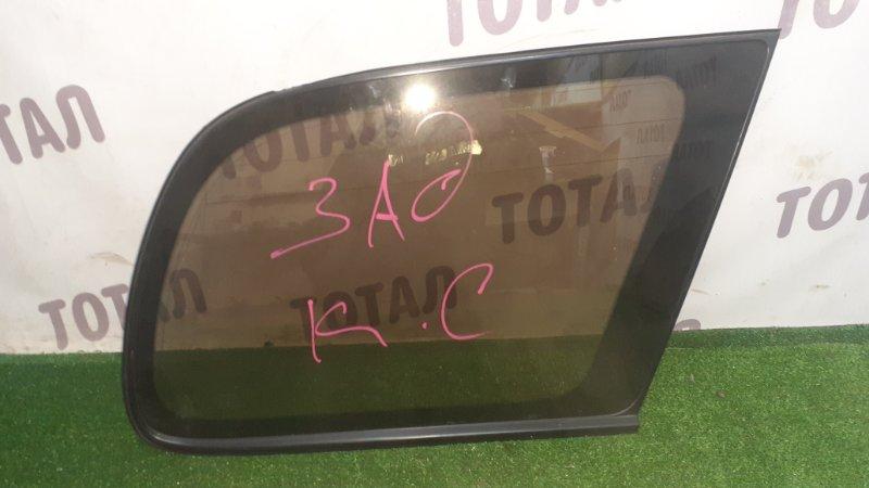 Стекло собачника Toyota Gaia SXM15 3SFE 1998 заднее правое (б/у)