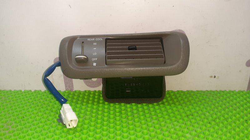 Блок управления климат-контролем Toyota Gaia SXM15 3SFE 1998 задний (б/у)