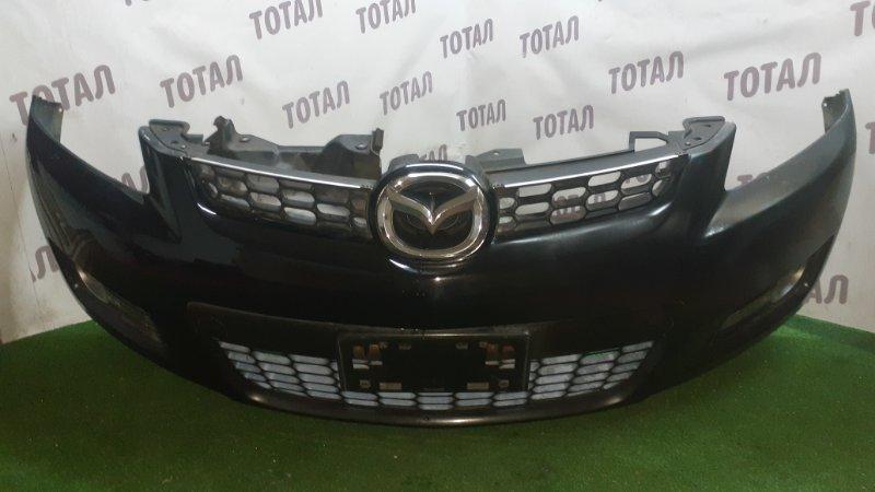 Бампер Mazda Cx-7 ER3P L3VDT 2007 передний (б/у)