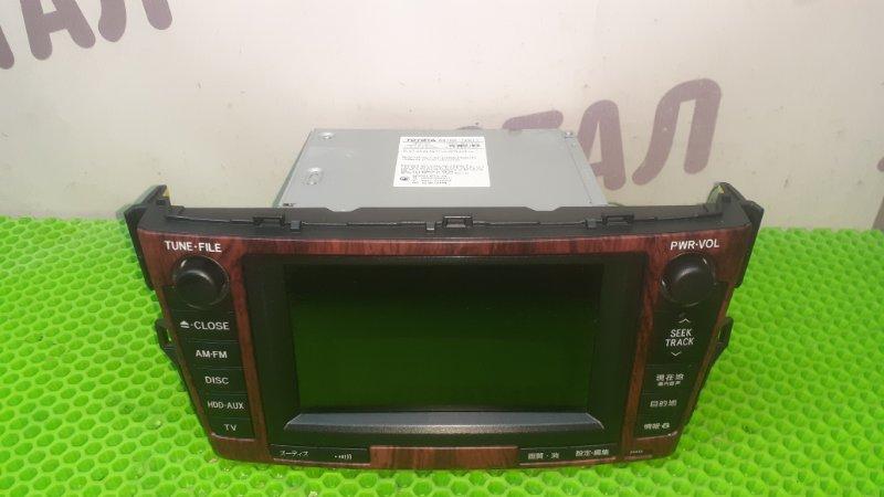 Магнитофон Toyota Mark X Zio GGA10 2GRFE 2008 (б/у)
