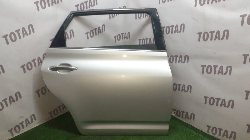 Дверь Toyota Mark X Zio GGA10 2GRFE 2008 задняя правая (б/у)