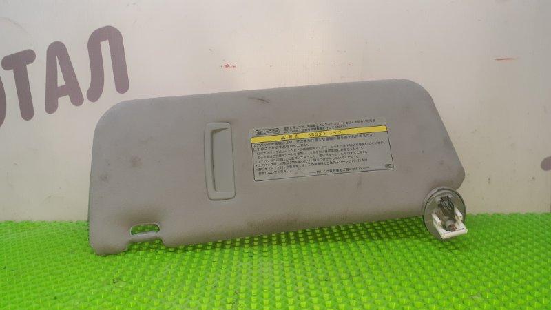 Козырек солнцезащитный Toyota Mark X Zio GGA10 2GRFE 2008 правый (б/у)