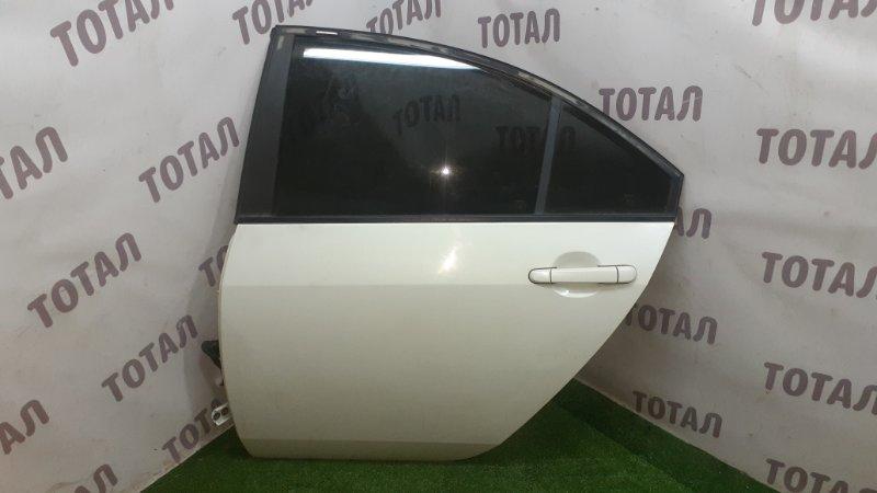 Дверь Nissan Primera TP12 QR20DE 2003 задняя левая (б/у)