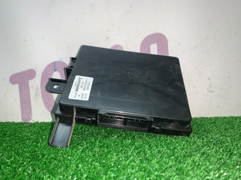 Блок управления климат-контролем Mitsubishi Outlander CW6W 6B31 2007 (б/у)