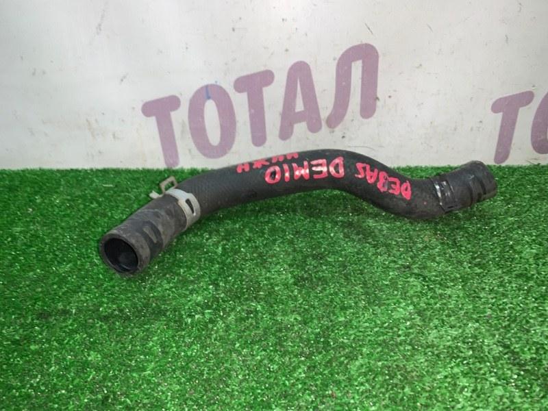 Патрубок радиатора Mazda Demio DE3AS ZJVE 2008 нижний (б/у)