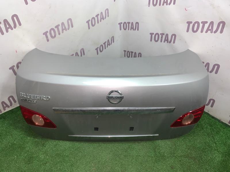 Крышка багажника Nissan Bluebird Sylphy KG11 MR20DE (б/у)
