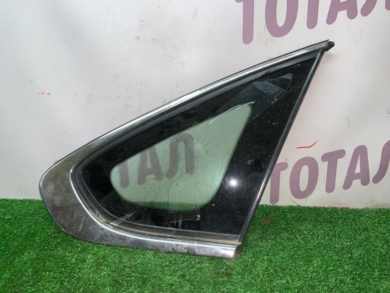 Форточка кузова Nissan Bluebird Sylphy KG11 MR20DE задняя правая (б/у)