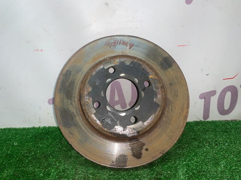 Тормозной диск Nissan Bluebird Sylphy KG11 MR20DE передний правый (б/у)