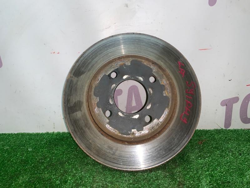 Тормозной диск Nissan Bluebird Sylphy KG11 MR20DE передний левый (б/у)