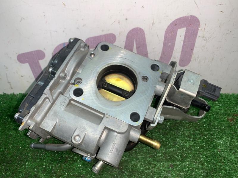 Блок дроссельной заслонки Honda Fit GE6 L13A 2007 (б/у)