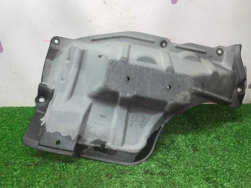 Защита двигателя Nissan Liberty PNM12 SR20DET 1999 правая нижняя (б/у)