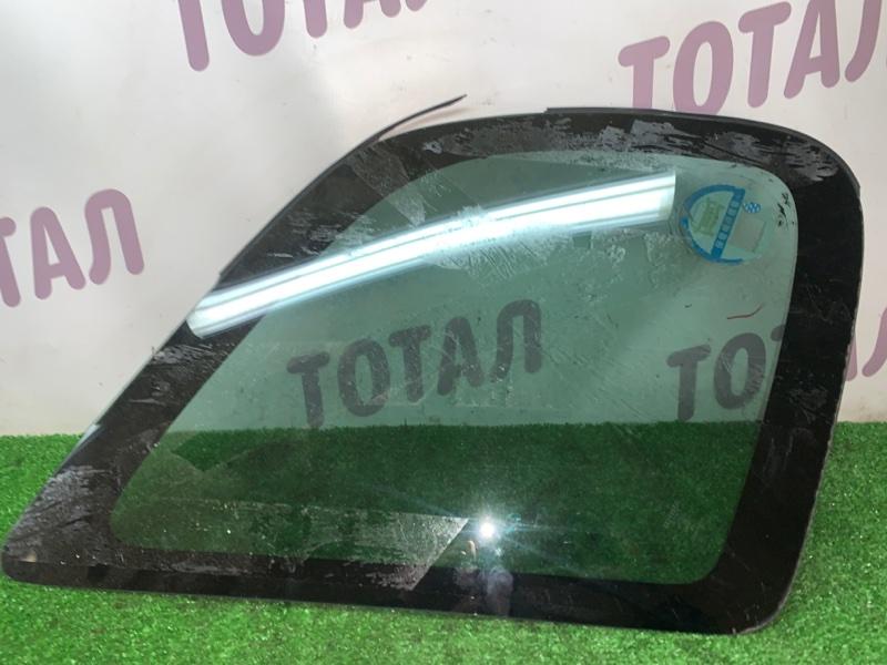 Стекло собачника Toyota Corolla Spacio AE115 7AFE 2000 заднее левое (б/у)
