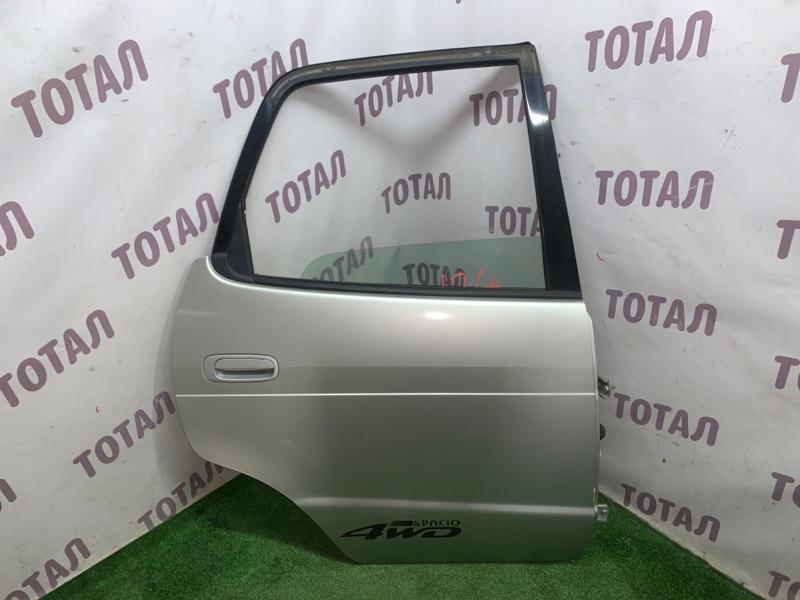 Дверь Toyota Corolla Spacio AE115 7AFE 2000 задняя правая (б/у)