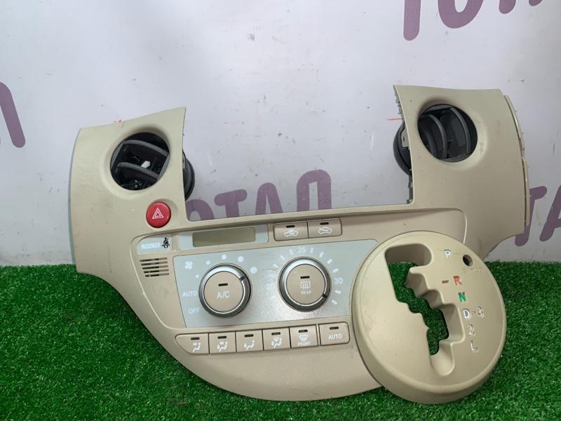 Блок управления климат-контролем Toyota Sienta NCP85 1NZFE 2004 (б/у)