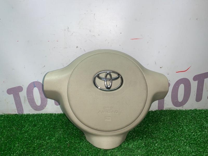 Аирбэг на руль Toyota Sienta NCP85 1NZFE 2004 (б/у)
