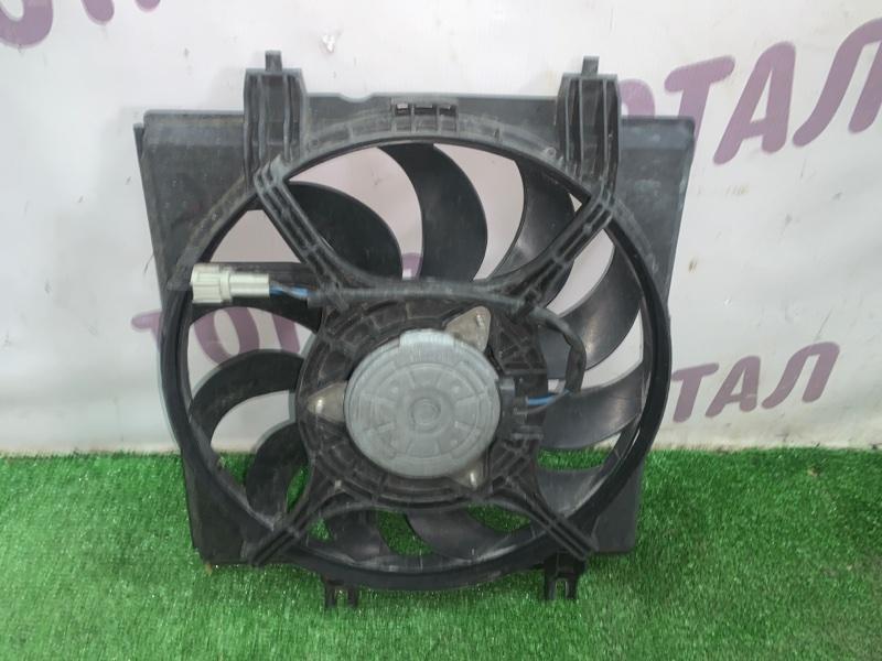 Вентилятор радиатора кондиционера Subaru Forester SH5 EJ205 2008 правый (б/у)