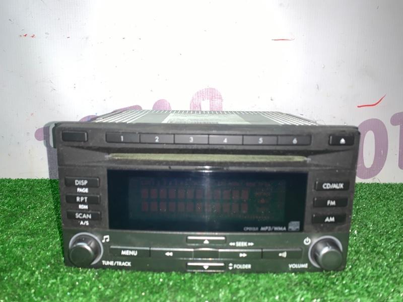 Магнитофон Subaru Forester SH5 EJ205 2008 (б/у)