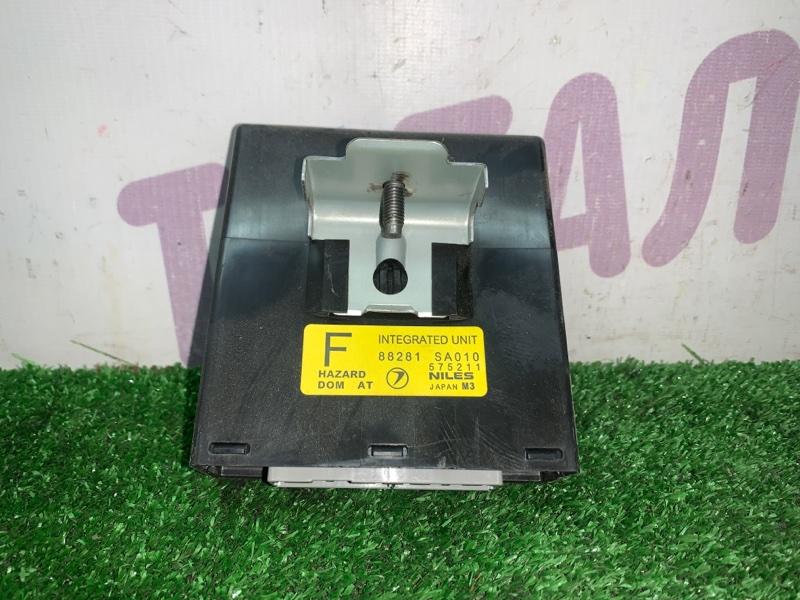 Блок управления центральным замком Subaru Forester SG5 EJ205 2002 (б/у)
