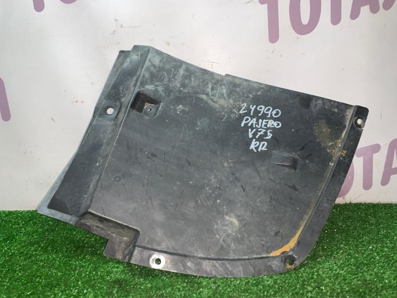 Подкрылок Mitsubishi Pajero V75W задний правый (б/у)
