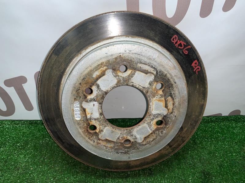 Тормозной диск Infiniti Qx56 JA60 VK56DE 2005 задний правый (б/у)